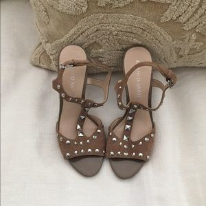 Studded sandals!